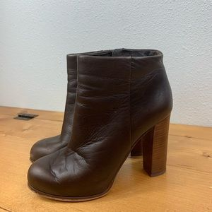 Vince Camuto Grenadine Ankle Boots Booties Leather